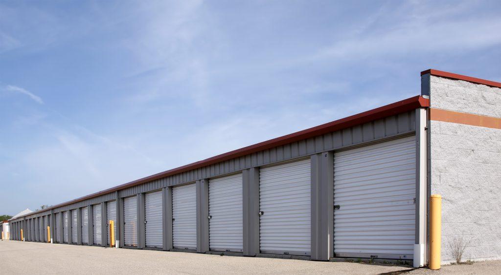 Newcastle self storage facility